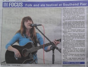 Echo News Pier Folk & Ale festival 2016