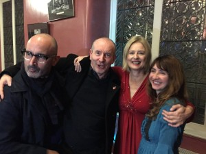 Colette with Julia Fordham, Michael Moran and Nick Rhodes (5TA)