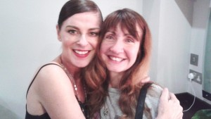 Colette with Lisa Stansfield 2014