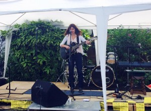 Gig at the Summer Solstice festival Rochford 2015