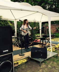 Gig at the Summer Solstice music festival 2015